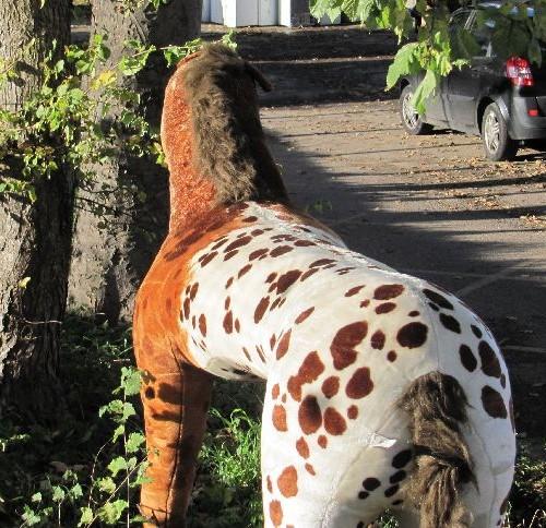 """58"""" Life Size Sit-On Plush Horse-3"""