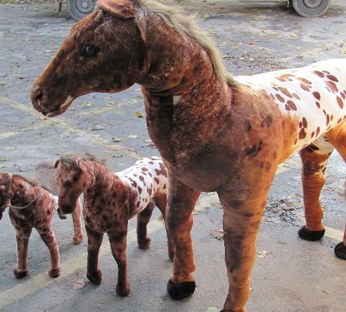 """58"""" Life Size Sit-On Plush Horse-5"""