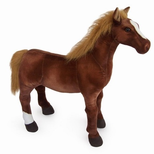 20″ THOROUGHBRED PLUSH TOY HORSE