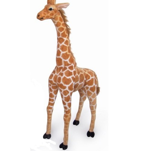 33 INCH HIGH PLUSH STANDING GIRAFFE