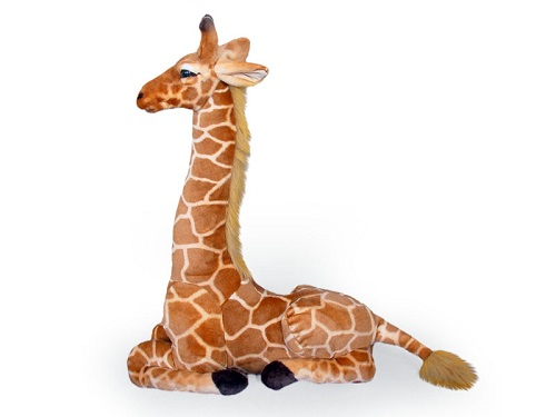25 INCH HIGH PLUSH LAYING GIRAFFE
