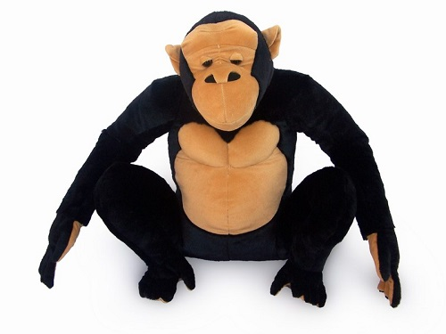 21 INCH HIGH PLUSH SITTING GORILLA