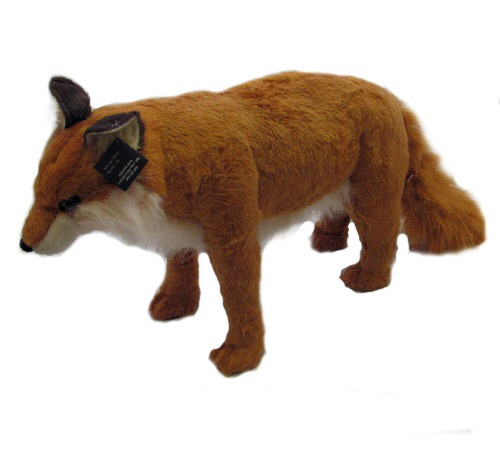 26 INCH LONG PLUSH TOY BROWN FOX