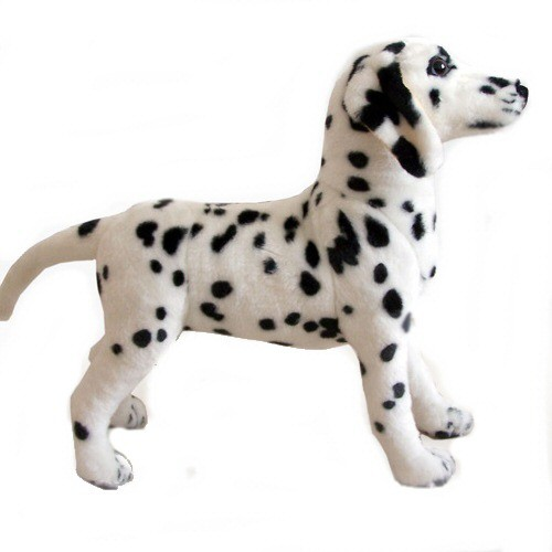 24 INCH HIGH PLUSH STANDING DALMATION DOG